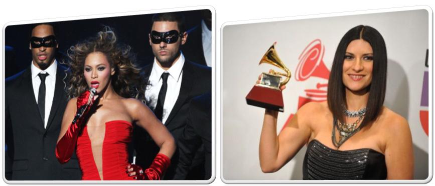 Beyonce trionfa agli MTV Europe Music Awards e Laura Pausini vince il suo quarto Grammy