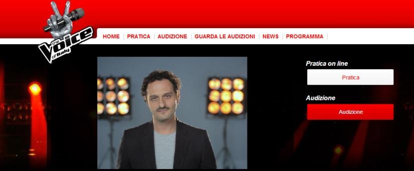 Fabio Troiano lancia le selezioni di The Voice of Italy