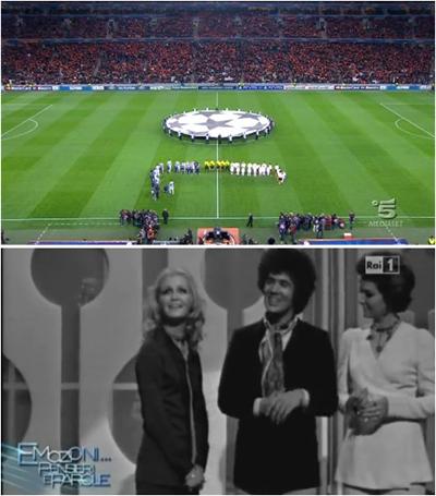 La sfida di Champions Shakhtar-Juventus supera lo show di Giletti dedicato a Battisti