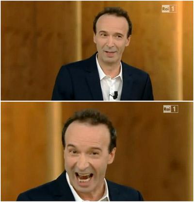 Oltre 12 mln per lo show di Roberto Benigni