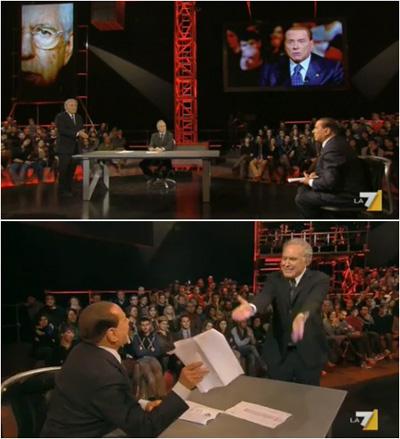 Berlusconi a Servizio Pubblico