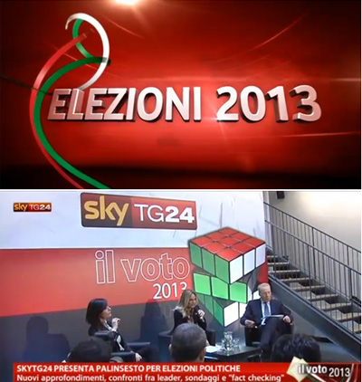 Elezioni 2013 Sky Tg24