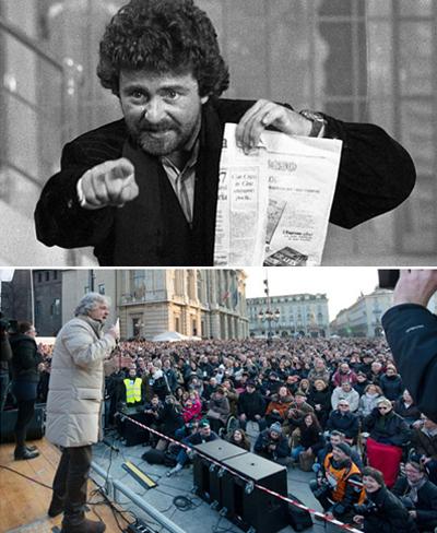 Beppe Grillo sceglie Sky Tg24 per l'unica intervista tv della campagna elettorale