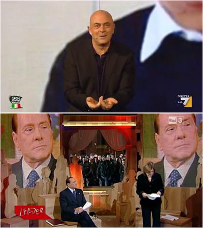Boom per Crozza nel Paese delle Meraviglie e Leader con Berlusconi