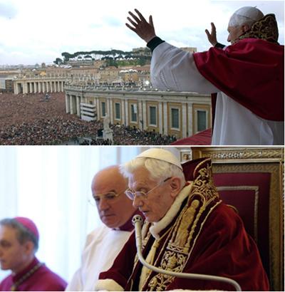 Le dimissioni di Benedetto XVI