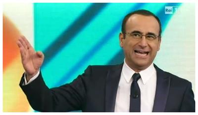 Carlo Conti presenta l'ultima puntata de I migliori anni