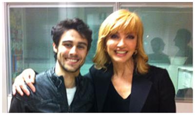 Milly Carlucci e Pablo Espinosa