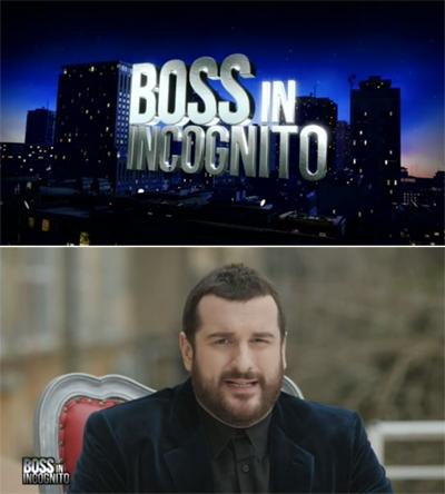 Boss in incognito con Costantino della Gherardesca