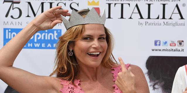 Miss Italia con Simona Ventura