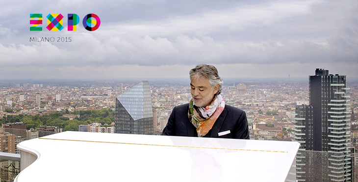 Bocelli Expo 2015 The Opening