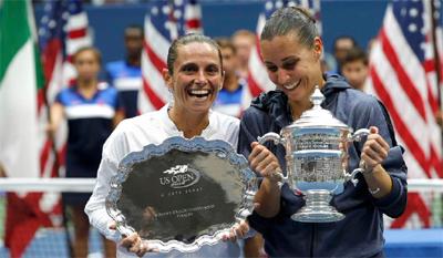 Finale US Open Flavia Pennetta Roberta Vinci
