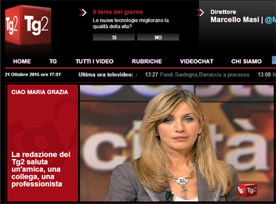 Tg2 Maria Grazia Capulli