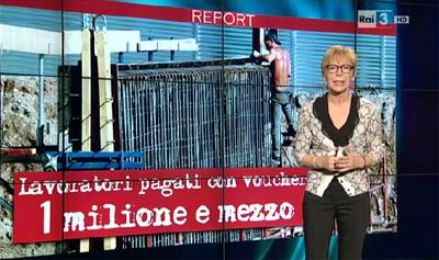 Report Nero a metà