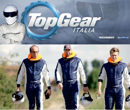 Il cast ufficiale di Top Gear Italia, in onda in primavera su Sky Uno