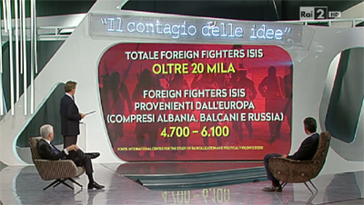 Virus, i numeri dei foreign fighters