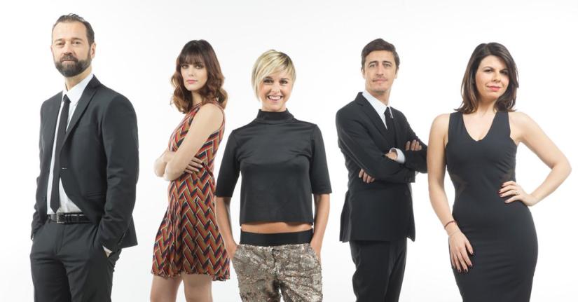 Miriam Leone, Fabio Volo, Geppi Cucciari, Pif e Nadia Toffa sono i nuovi conduttori de Le Iene Show, in onda da domenica 24 gennaio su Italia1