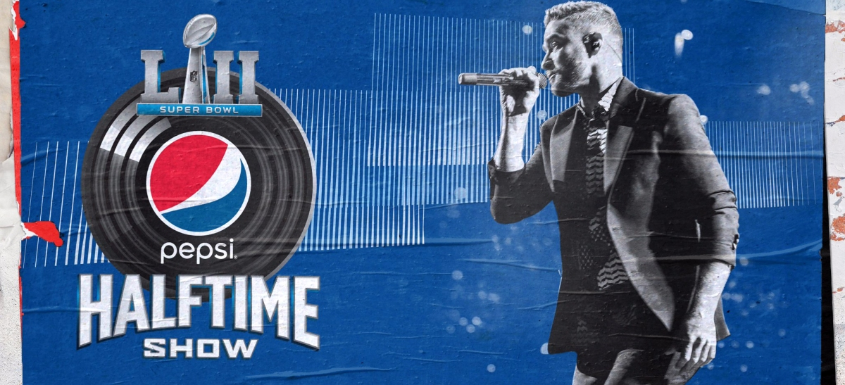 Super Bowl 2018, Justin Timberlake all'halftime show